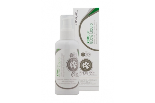 X3M EGF GLOW   Жидкий увлажнитель против пигментации для светлой и красивой кожи